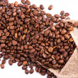 Royalty-Free Stock Photo: Coffee beans as a background
