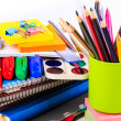 Office stationary. Back to school concept — Stock Photo #28430599