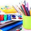 Office stationary. Back to school concept — Stock Photo #28923817