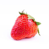 Fresh strawberry isolated on white background. — Stock Photo