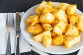 Homemade baked sweet potato — Stock Photo