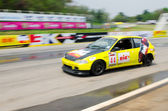 Car racing in Thailand — Stock Photo