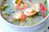 Shrimp soup, Tom Yum Goong — Stock Photo