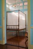 Staré teakové dřevo nábytku — Stock fotografie