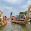 The rehearsals Royal barge — Stock Photo