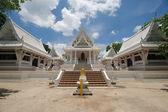 White Ancient Thai temple — Stock Photo
