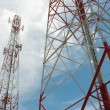 Telecommunication tower — Foto Stock