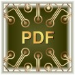Pdf Download — Stockvectorbeeld