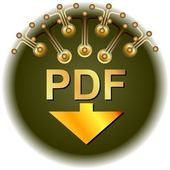 Pdf Download — Stock Vector