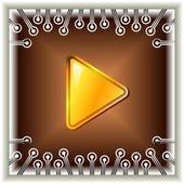 Video button — Stock Vector
