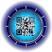 Qr-code — Stockfoto
