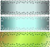 Background banners — Stock Photo