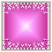 Pink Crystal — Stock Vector