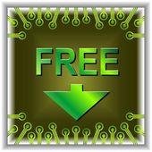 Button sale online — Stock Vector