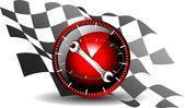 24 godziny konserwacji samochodu — Wektor stockowy