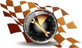24 hour maintenance car — Stock Vector