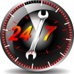 Button tech support — Stock Vector #13733368