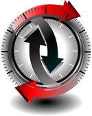 кнопка скачать — Cтоковый вектор