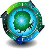 мониторинг медицинских технологий здравоохранения — Cтоковый вектор