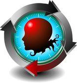 Health monitoring medical technologies — Stock Vector