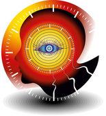 мониторинг медицинских технологий — Cтоковый вектор