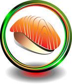 Sushi business — Stockvektor