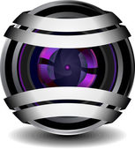 Webcam — Vetor de Stock