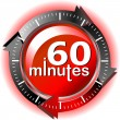 60 minutes — Stock Vector #9273438