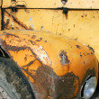 Stock Photo: Rusted fender