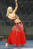 Belly Dancing — Stock Photo