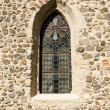Old church window — Stock Photo