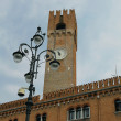 Foto Stock: Town Hall clock in Treviso