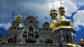 Orthodox sanctuary Kiev Pechersk Lavra in Ukraine — Stock Photo