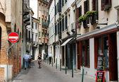 Old street in Treviso Italy — Stock Photo