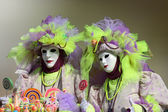 Der karneval von venedig — Stockfoto