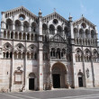 Cathedral of Ferrara — Stock Photo #8560702