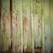 Old green wood background — Stock Photo