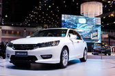 34th Bangkok international Motor Show 2013 — Stock Photo