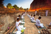 Visakha Puja Day — Stock Photo