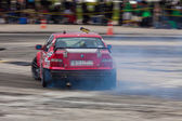 Drift-compittition — Stockfoto