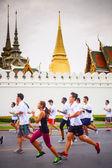 曼谷马拉松 — 图库照片