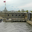Fort in peter and paul fortress — 图库照片
