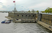 Fort in peter and paul fortress — Stock Photo