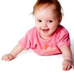 Adorable little baby girl — Stock Photo #12842161