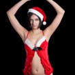 Royalty-Free Stock Photo: Sexy Santa girl