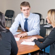 Business meeting in an office — Stockfoto