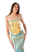 Young mermaid — Stock Photo
