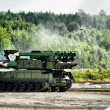 Stock Photo: Mobile missile launcher
