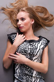 Piękne blond kobieta — Zdjęcie stockowe