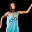 Ancient Egyptian woman - Cleopatra - Stok fotoraf